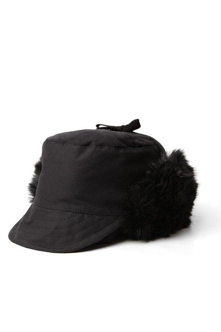 Bridge & Burn x Tsuyumi Trapper Hat - Black