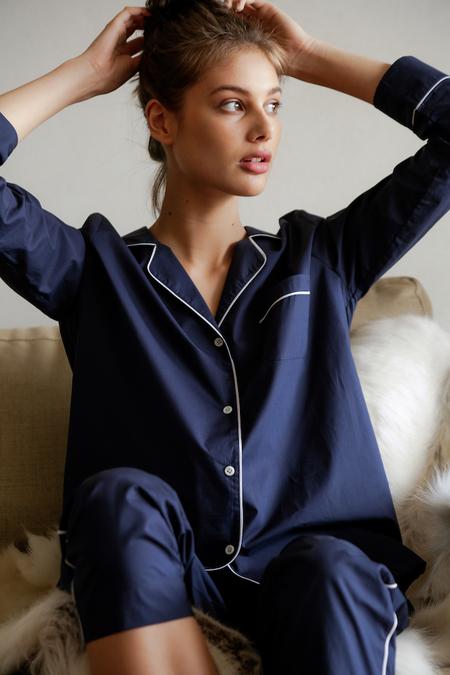 Laing Frank Pyjama Set - Navy