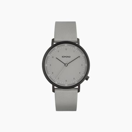 Komono Lewis Watch in Gray