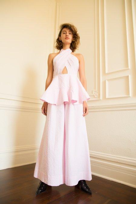 Nika Tang SS18 Pre-Order Irene Pant - Pink