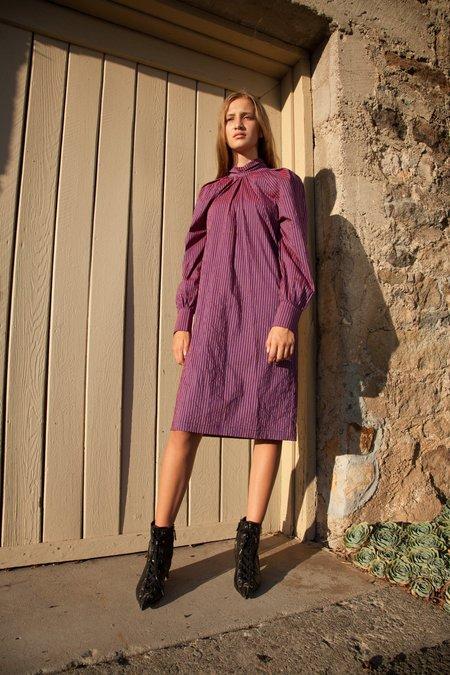 Nika Tang SS18 Pre-Order Lola Dress - Purple