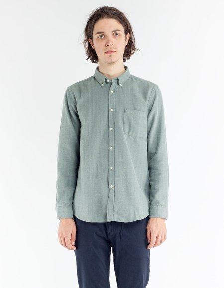 Portuguese Flannel Espiga Shirt - Green