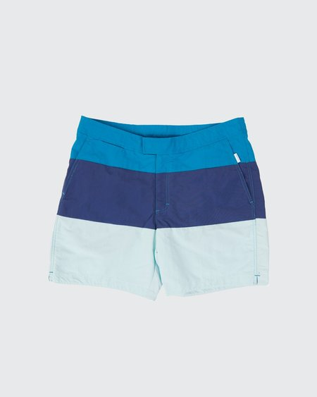 Aqua et Sol Colorblock Swim Trunk
