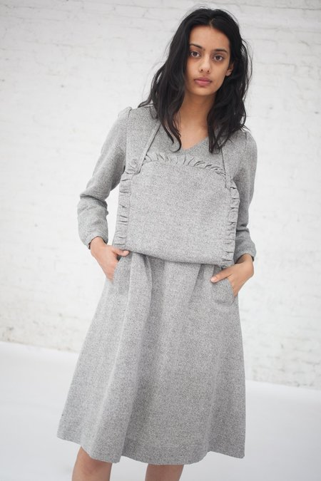 Eatable of Many Orders Aporia Dress in Grey