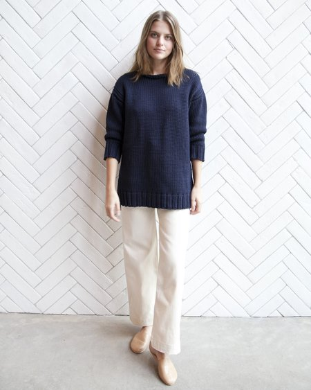 Esby Andrea American Sweater - Navy