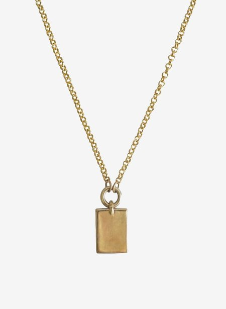 Laura Lombardi Icona Necklace Rectangle