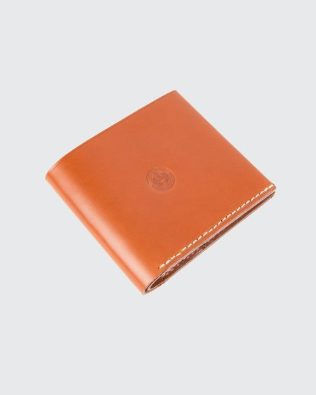 NORTH SEA SUB BILLFOLD WALLET TAN