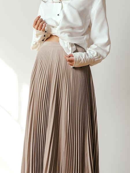 Shaina Mote Aster Skirt in Dun