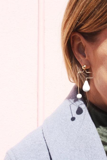 Jujumade Maze Earrings