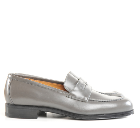 Le Yucca's Grey Ball Loafer