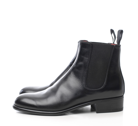 Le Yucca's Black Chelsea Boot