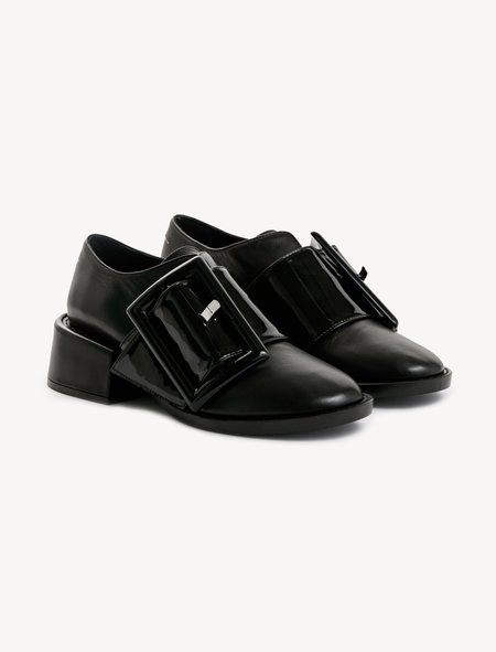 MM6 by Maison Margiela Wide Patent Buckle Brogue