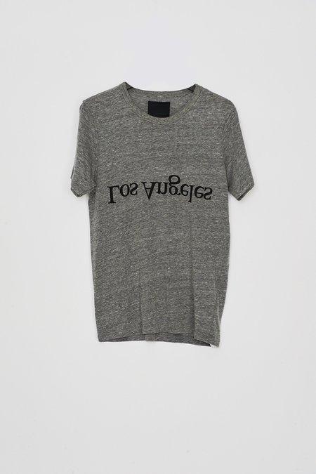 Unisex Assembly New York Cotton Los Angeles Logo T-Shirt