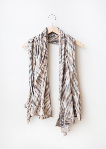 Raquel Allegra Big Sheer Scarf - Topaz