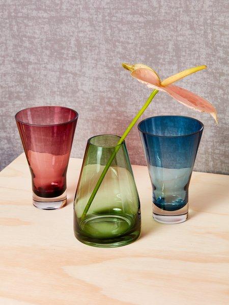AYTM Green Glass Vase