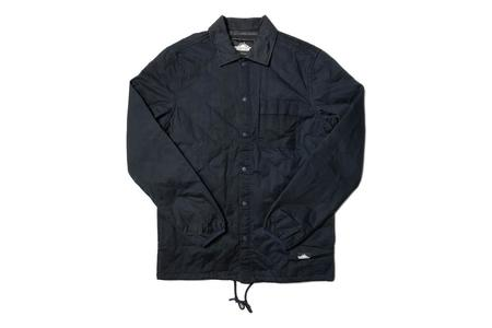 Penfield Blackstone Quilted Shirt Jacket - Navy