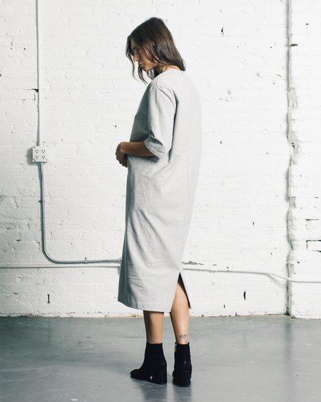 Kaarem Sandstone Pocket Dress