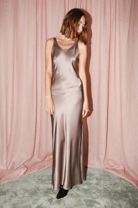 Baserange Domond Dress in Mountain Brown