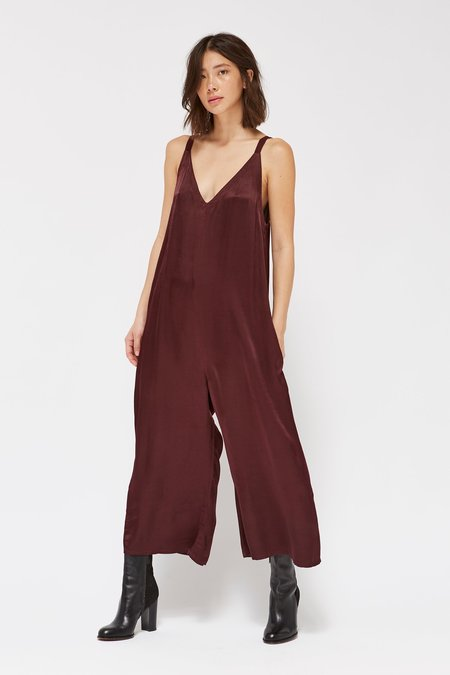 Lacausa Clothing Santi Jumpsuit in Beret