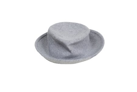Clyde New Hobo Hat in Heather Grey