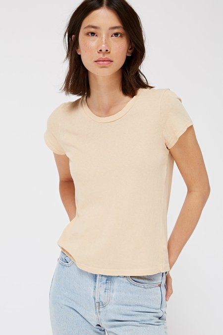 Lacausa Clothing Frank Tee in Musk