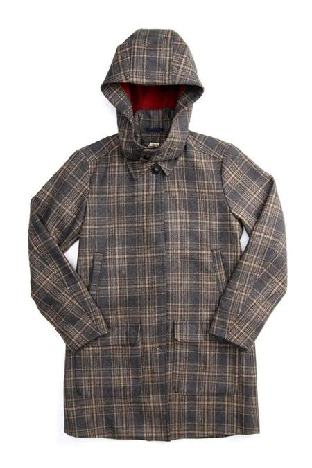 Bridge & Burn Watford - Grey/Tan Plaid