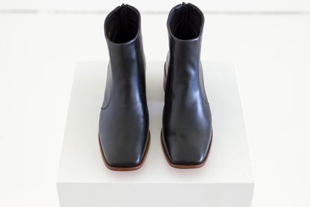 Mari Giudicelli Teresa Boot in Black Calf Leather