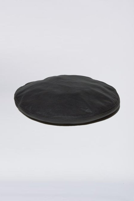 Clyde Leather Beret