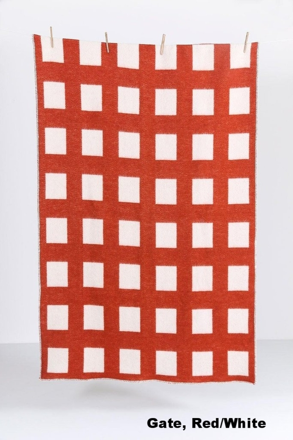 ZigZagZurich CoopDPS Wool Blanket