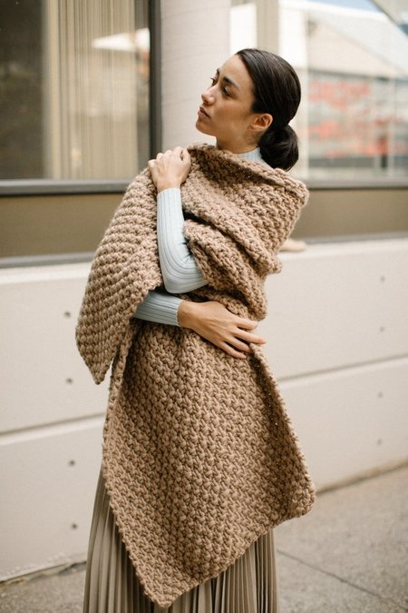I Love Mr. Mittens Moss Maxi Wrap - Taupe