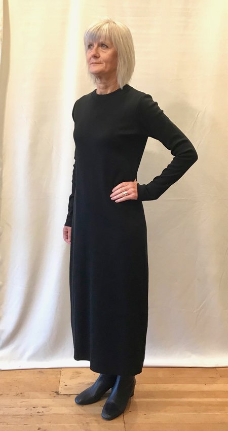Kowtow Building Block Rib Long Sleeve Dress