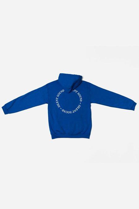Unisex Silent Sound Logo Hoodie - Blue