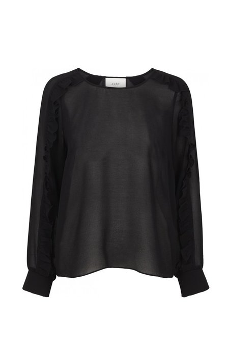 Just Female Rebecca Blouse - Black