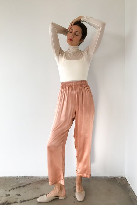OR Satin Pant In Peach
