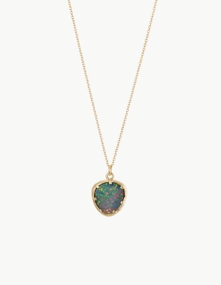 Kathryn Bentley Blue Opal Organic Amulet