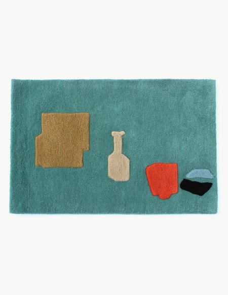 Cold Picnic Objects From Home Rug