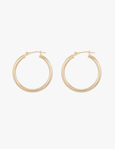 Kathryn Bentley Medium Classic Gold Hoops