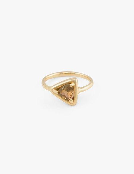 Kathryn Bentley Sapphire Prism Ring