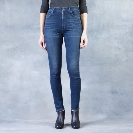 Citizens of Humanity Haze Chrissy Uber High Rise Skinny Jeans