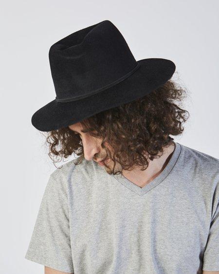 Clyde Pinch Hat - Black