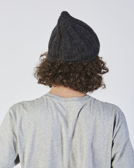 Clyde Rib Hat in Angora