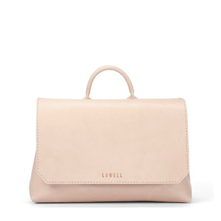 Lowell Langelier Veggie Tanned Leather Bag - Nude