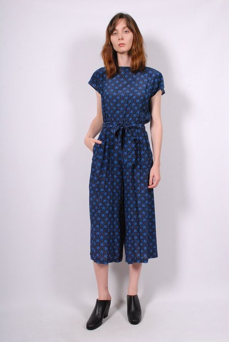 No.6 Winona Jumpsuit - Navy French Floral