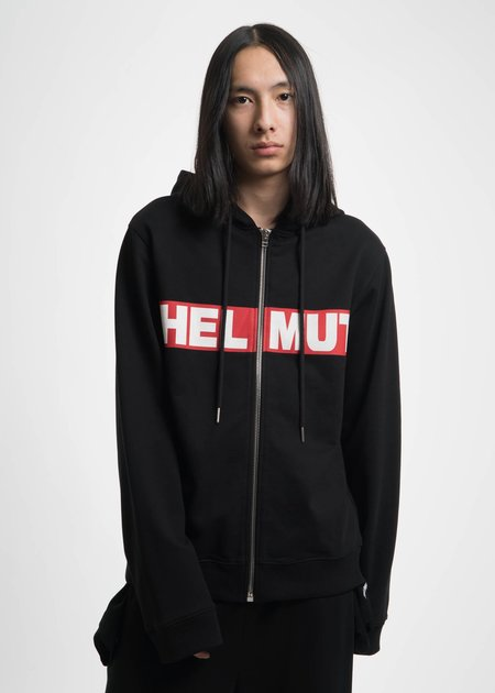 Helmut Lang Helmut Box Hoodie - Black