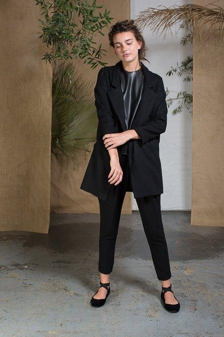 Heidi Merrick Stone Coat - Black