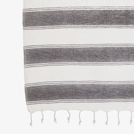 Tama Towels Fouta Cloud - White Gray