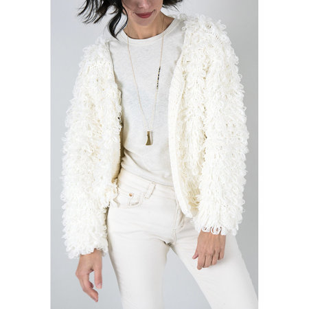 Callahan Wooly Jacket - Cream