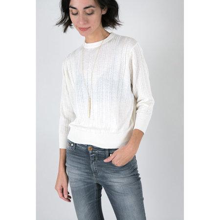 Callahan Cableknit Everyday Sweater - Cream