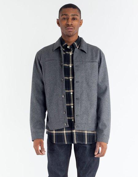 Minimum Akio Lightweight Jacket - Grey Melange