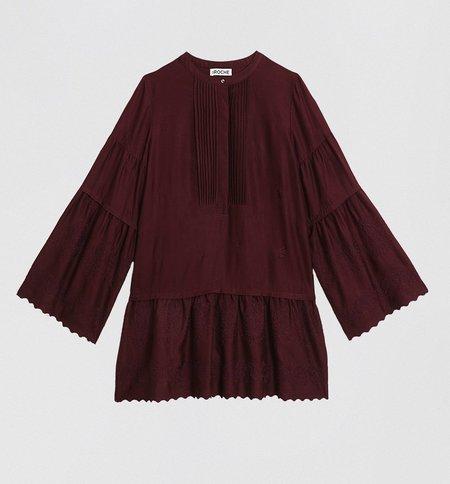 St. Roche Marcy Dress - Blackberry